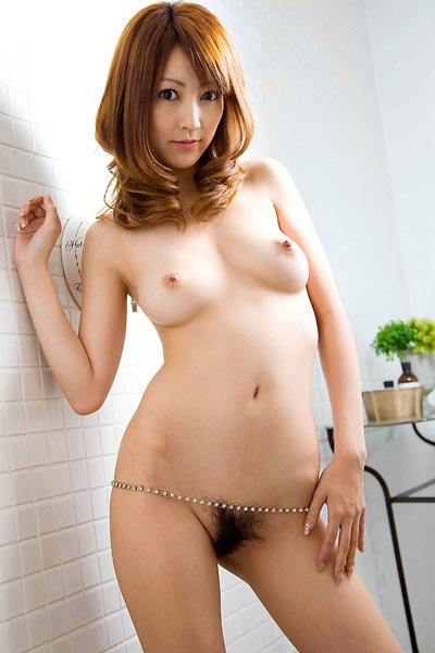 Model Kaede Matshushima in Breast Display
