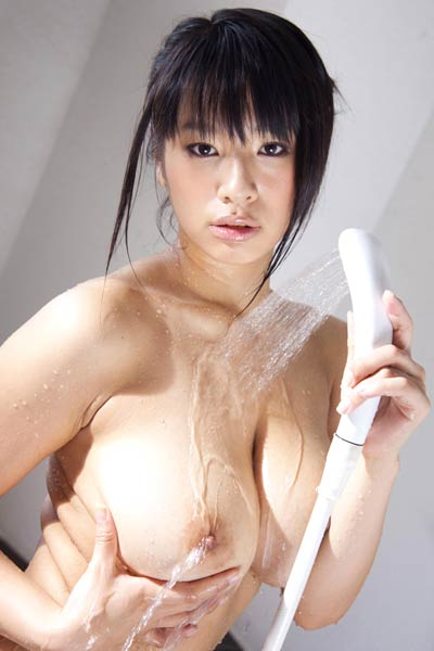 Model Hana Haruna in Bathing Etiquette