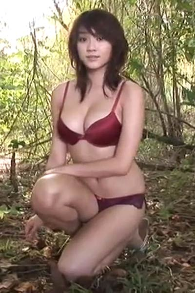 Model Mikie Hara in The Summer You Were In Scene 1