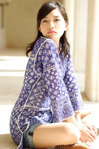 Model Haruna Kawaguchi in Sunset Beauty