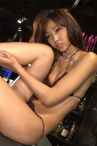 Model Risa Yoshiki in Honey Scene 1